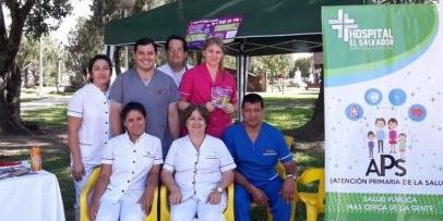 """Campaña del Hospital el Salvador en el """"Día Mundial de la Lucha Contra el Sida"""""""