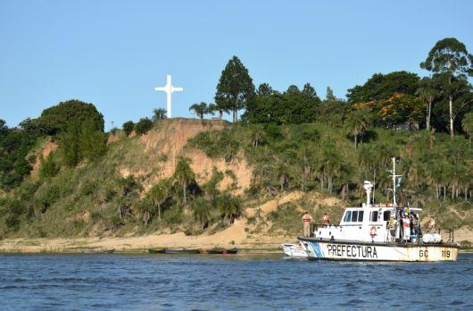 Prefectura busca a un joven desaparecido en el Rio Paraná