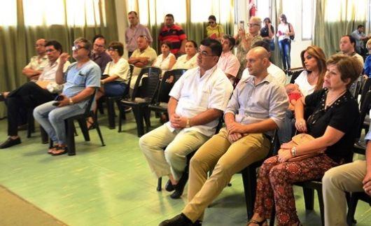 El Intendente presentó su nuevo gabinete