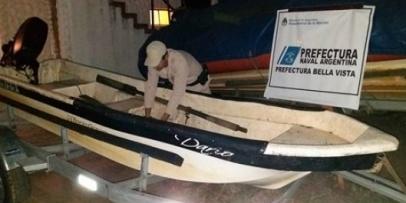 Procedimiento de Prefectura Incauta Embarcaciones y pesca Ilegal