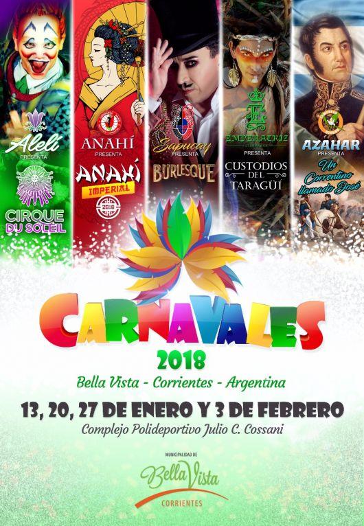 El Carnaval 2018, ya Empieza a Latir