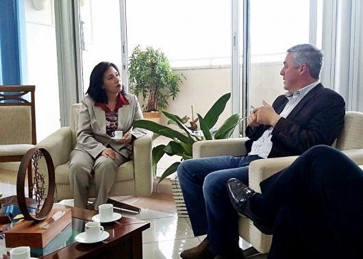 El Intendente rubricará convenio internacional en Brasil