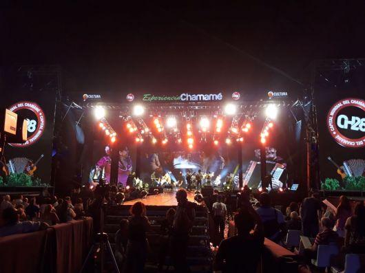 La 28º Fiesta del Chamamé tuvo solidaridad y gran convocatoria