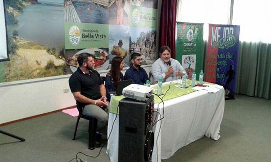 """SEDRONAR en Bella Vista con el programa de capacitación """"Deporte y arte con Voz"""""""