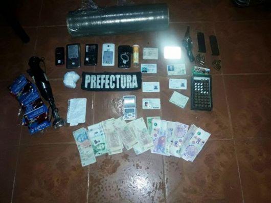 Prefectura desbarató banda narco que operaba en Bella Vista