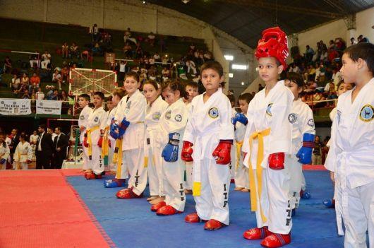 Bella Vista sede del Torneo de Taekwondo del Mercosur