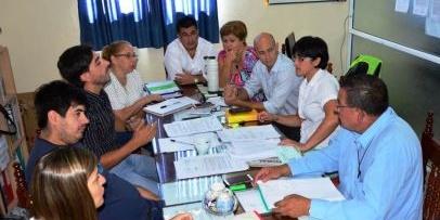 El HCD, recibió a la Secretaria de Gobierno y el Jefe de Inspectores