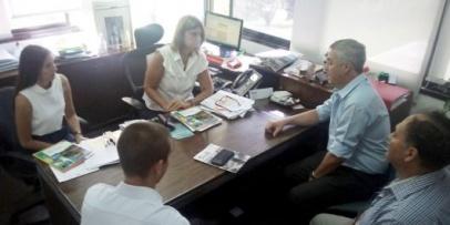 Chavez se reúne con autoridades del CEAMSE