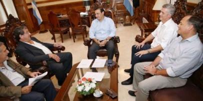 Chavez con Valdés por proyecto de viviendas
