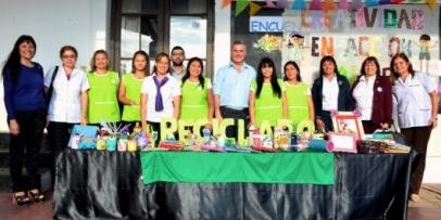 El municipio impulsa Talleres de Reciclado en las escuelas