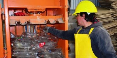 Chavez destacó los avances de la Planta de Tratamiento de Residuos