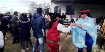 Paraje Isla Alta festejó el Día de la Virgen de Itatí
