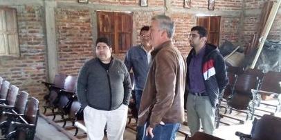 El Presupuesto Participativo entrega elementos en Lomas Este