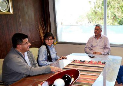 El Intendente recibió a la primera egresada de la extensión áulica de la UNNE Bella Vista