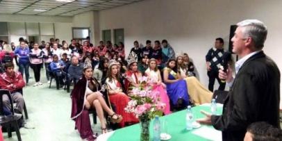 Bella Vista presentó su gran Estudiantina 2018