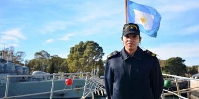 """Cabo Segundo Maquinista Yohana Gisel Ramírez de Corrientes: """"La Armada es una oportunidad para crecer profesionalmente y como persona"""""""