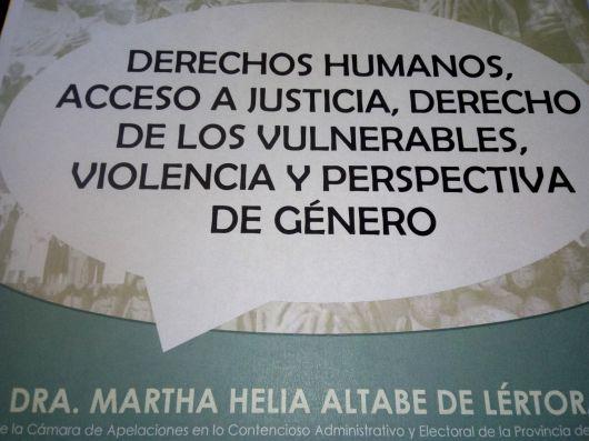 Capacitarán sobre Justicia y Sociedad Civil