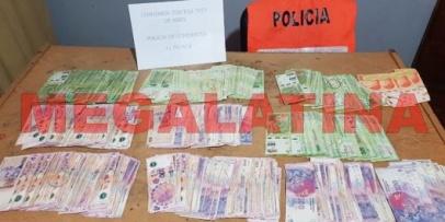Recuperan más de 250 mil pesos en Tres de Abril