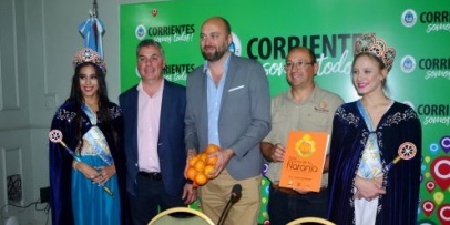 Presentación regional de la Fiesta de la Naranja y la Diversidad Productiva