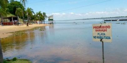 La playa Municipal no está habilitada