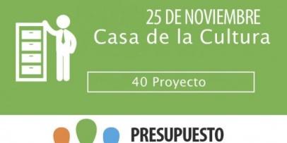 40 Proyectos para el PP 2018
