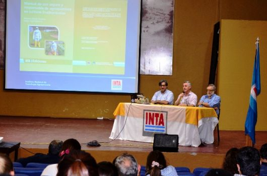 Realizan jornada técnica sobre uso de agroquímicos