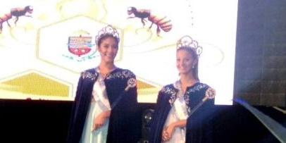 Reinas bellavistenses en la XXVII Fiesta de la Miel