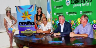 Bella Vista presentó al país sus Carnavales Oficiales 2019