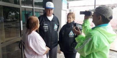 San Roque: más de 380 persona evacuadas y 500 mm de lluvia caída