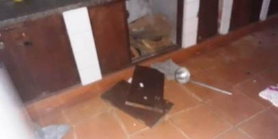 Recuperan los robado el al escuela Provincia del Chubut