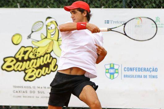 El bellavistense Luciano Tacchi jugará dos grand slams