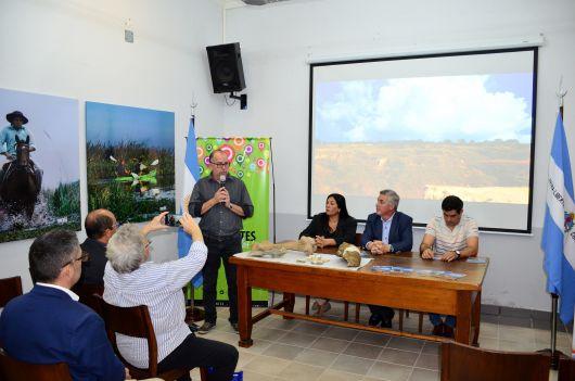 Bella Vista presentó en Corrientes su 1° Encuentro Provincial de Paleontología