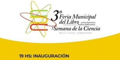 Comienza la 3° Feria Municipal del Libro