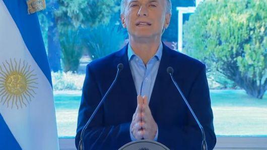 Las 9 medidas económicas que anunció Mauricio Macri para aliviar a las clases media y baja