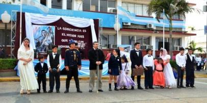 Homenaje a 169 años de la muerte del General San Martín