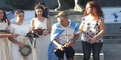 Zannino entre los 5 mejores argentinos en el Spartatlhón de Gracia