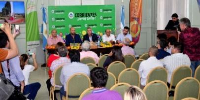 Presentaron en Corrientes la 17° Fiesta Nacional de la Naranja