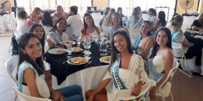 Magalí participa de la Fiesta Nacional de la Citricultura