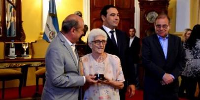 Bellavistense homenajeada por el Gobierno de Corrientes