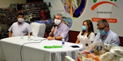 Chavez explicó el protocolo sanitario para Bella Vista