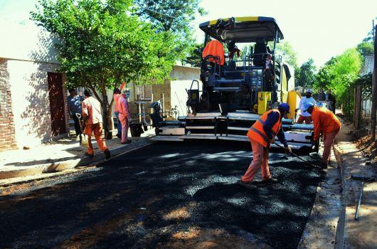 Bella Vista concreta 30 cuadras de asfalto del ProMeBa