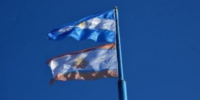 En el día de la enseña nacional Bella Vista estrenó su Bandera Departamental
