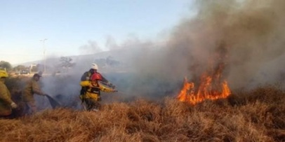 Por el déficit hídrico prohibieron todo tipo de quema hasta el próximo miércoles 30