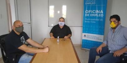 Bella Vista inscribe trabajadores al programa Interzafra