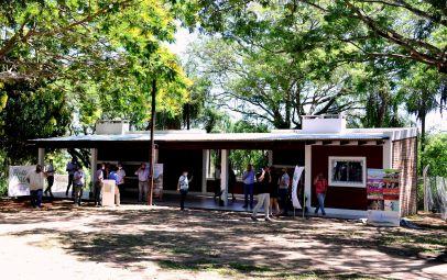 Chavez inauguró obras en el Parque Cruz de los Milagros