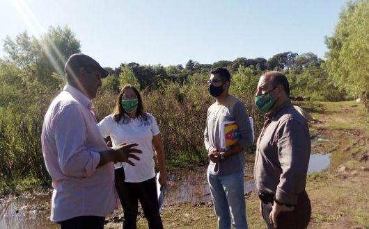 Municipio y Provincia relevan sectores ladrilleros