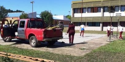 Realizan operativos municipales en escuelas y grupos vecinales rurales