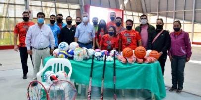El municipio presentó el programa anual Deporte todo el Año
