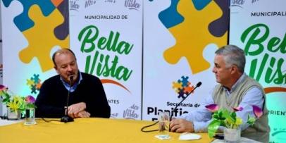 Bella Vista y Villa Ocampo renuevan su compromiso de interconexión