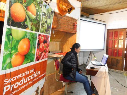Capacitan a productores hortícolas en identificación de plagas y enfermedades
